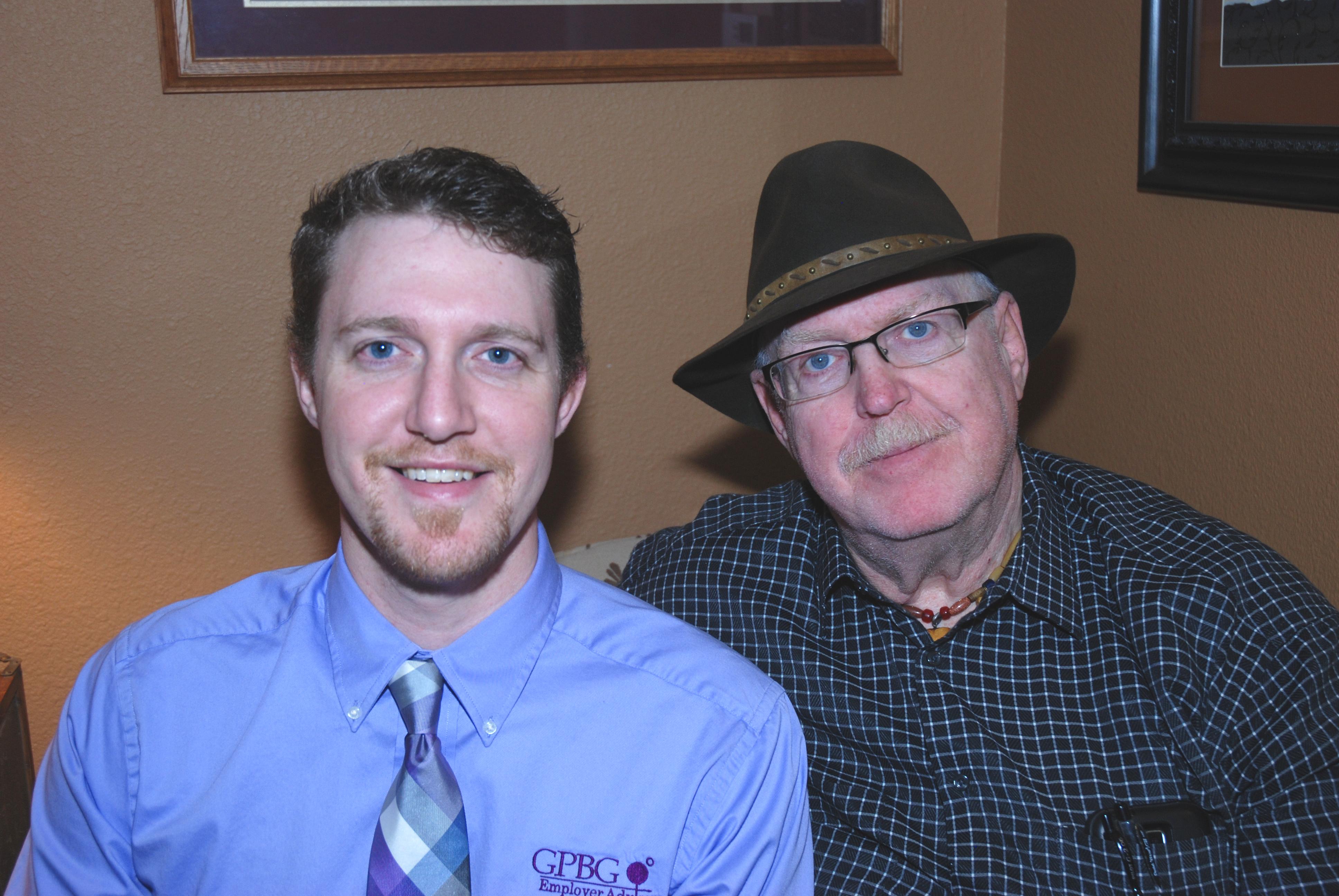 John Krueger (left), Roger Krueger (right)